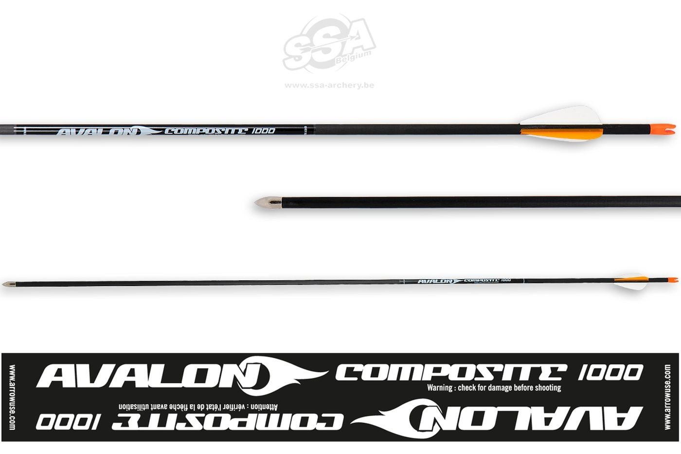 Karbonový šíp Avalon - Standard- composit