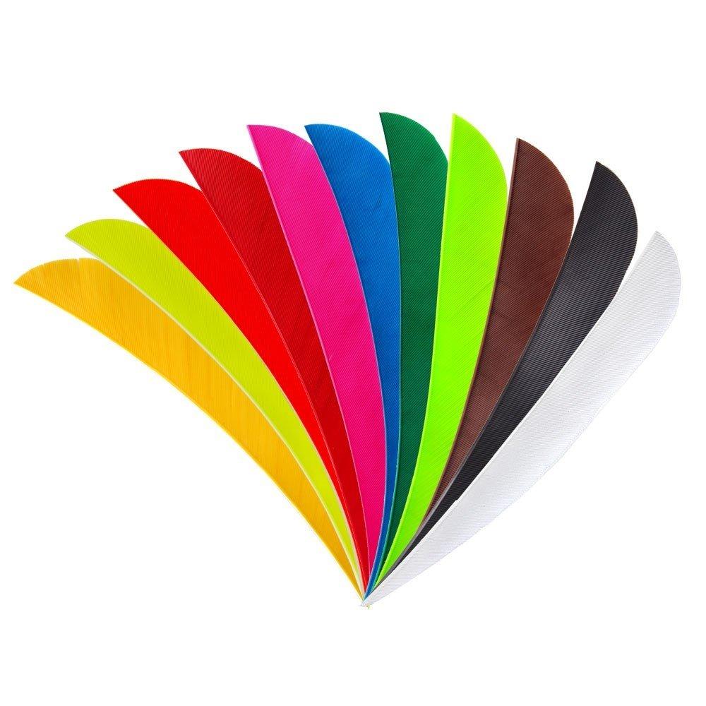 """Peruť - 4"""" Parabol - jednobarevná"""