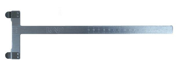 Měřící šablona Kap - T-měrka